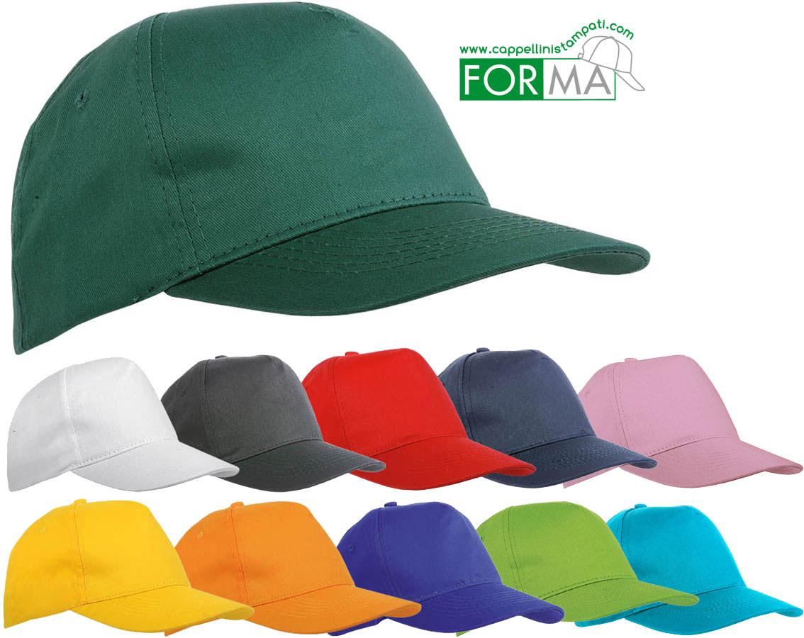 tecnologie sofisticate presa di fabbrica professionale Cappellini Baseball 5 pannelli stampati